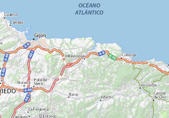 Villaviciosa Map