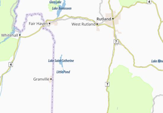 Mapas-Planos Middletown Springs