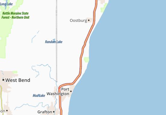 Lake Church Map