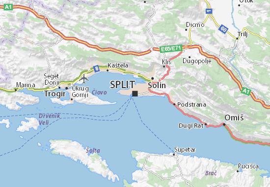Split Karte