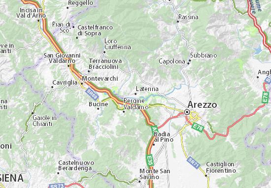 Laterina Map
