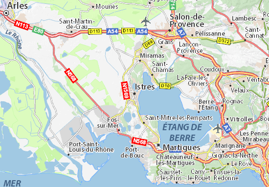 Mappe-Piantine Istres