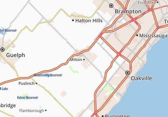 Milton Map