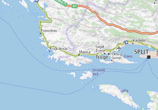 Kaart Plattegrond Marina