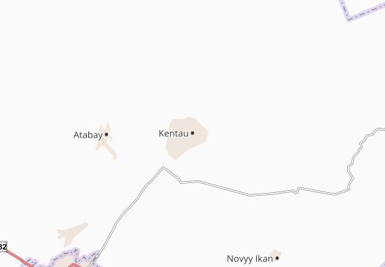 Kentau Map