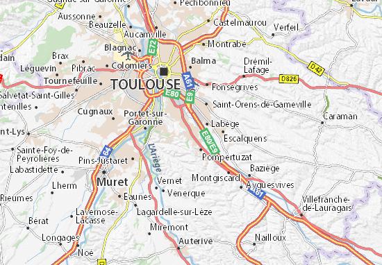 Mappe-Piantine Castanet-Tolosan