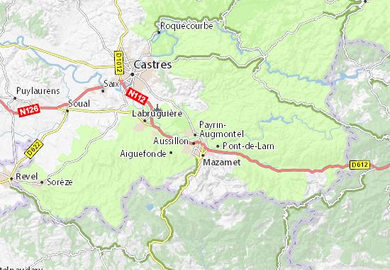 Mapa Plano Payrin-Augmontel