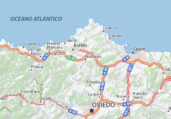 Nubledo Map