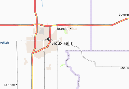 Map of East Sioux Falls - Michelin East Sioux Falls map ... Sioux Falls Map on cedar rapids map, iowa map, akron canton map, brookings sd map, grand junction map, corpus christi map, mount rushmore national memorial map, mankato map, san francisco map, black hills map, brownsville map, lincoln map, big sioux river map, rochester map, city map, south dakota map, east valley zip code map, minnehaha county map, rosebud sioux tribe map, norman map,