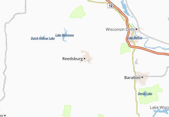 Mapas-Planos Reedsburg