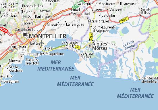 Mapas-Planos Le Grau-du-Roi