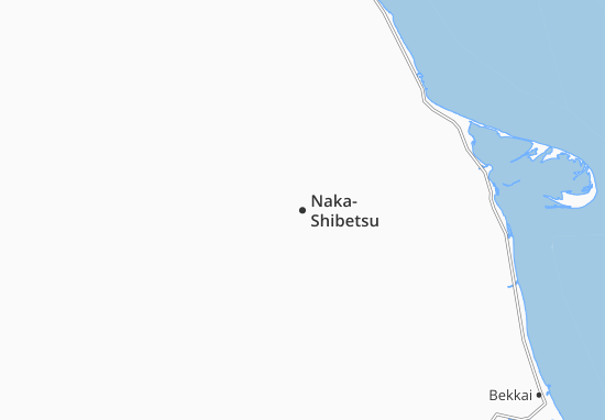 Naka-Shibetsu Map