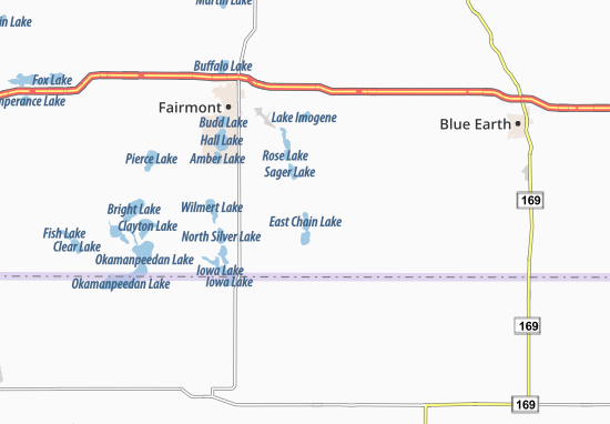 Mappe-Piantine East Chain
