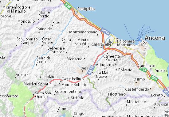 Mappe-Piantine Monsano