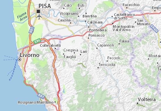 Mappe-Piantine Lari