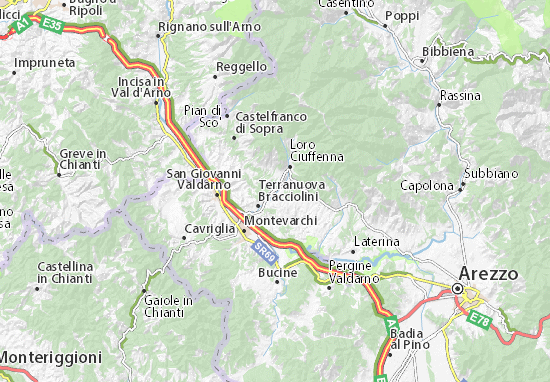 Map Of Penna Alta Michelin Penna Alta Map ViaMichelin - Map of penna