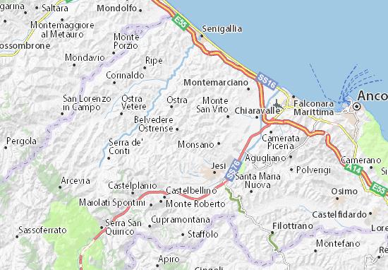 Mapas-Planos San Marcello