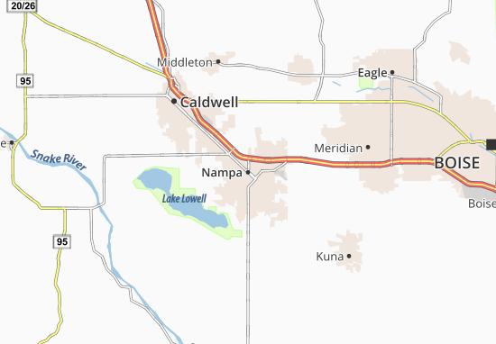 Nampa Map