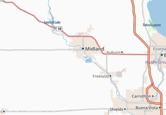 Bullock Creek Map