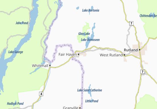 Mapas-Planos Fair Haven