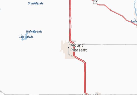 Mapas-Planos Mount Pleasant