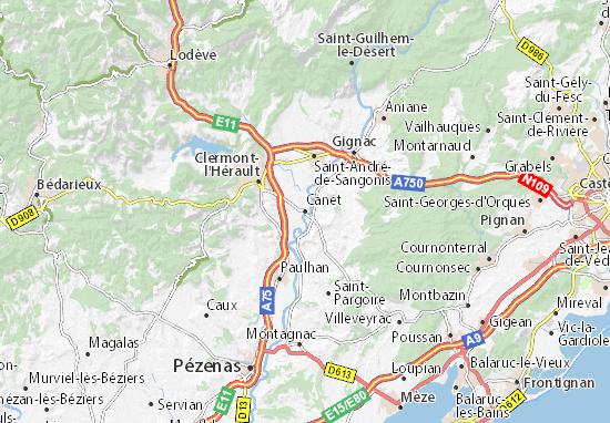 Mapas-Planos Canet