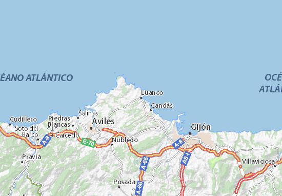 Mapas-Planos Luanco