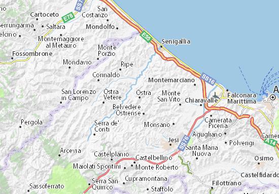Mappe-Piantine Ostra