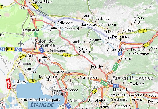 Mappe-Piantine Saint-Cannat