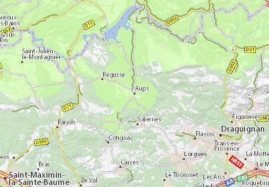 Mappe-Piantine Aups