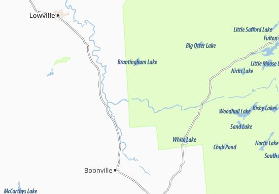 Carte-Plan Fowlersville