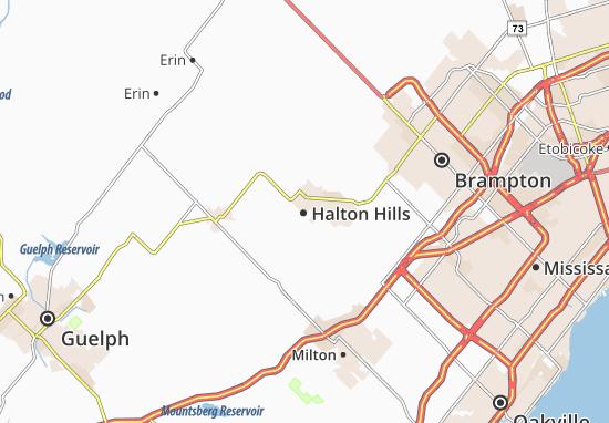 Mappe-Piantine Halton Hills