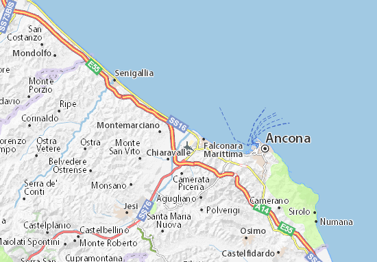 Carte-Plan Rocca Priora