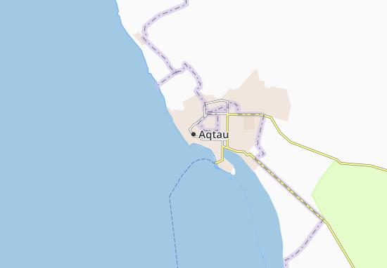 Carte-Plan Aqtau
