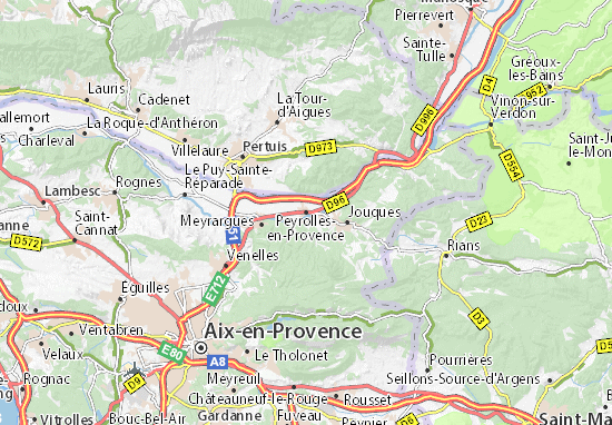 Mappe-Piantine Peyrolles-en-Provence