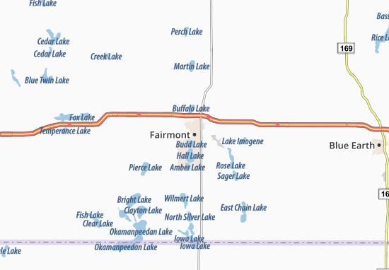 Fairmont Map