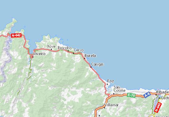 Mapas-Planos Burela