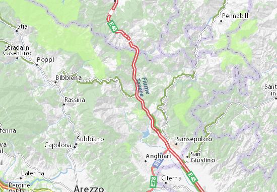 Pieve Santo Stefano Map