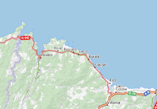 Cervo Map