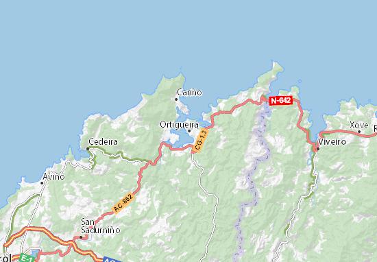 Mapas-Planos Ortigueira