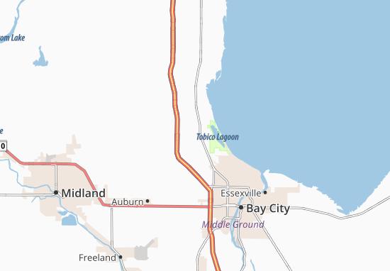 Kawkawlin Map