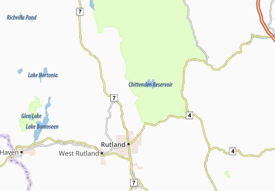 Chittenden Map