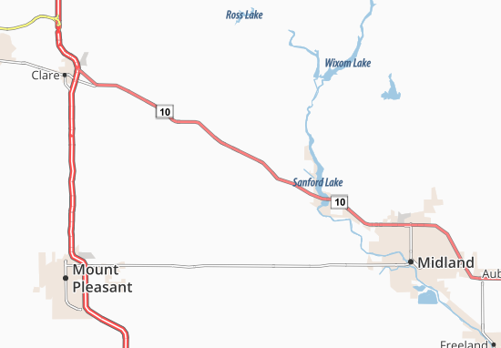 Mapas-Planos North Bradley