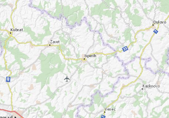 Karte Stadtplan Isperih
