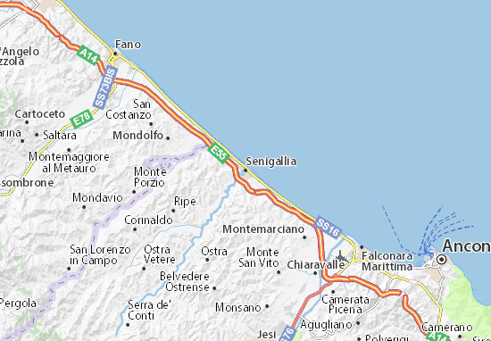 Senigallia Map