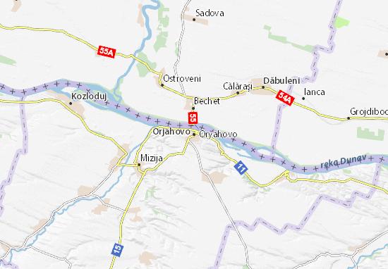 Carte-Plan Orjahovo