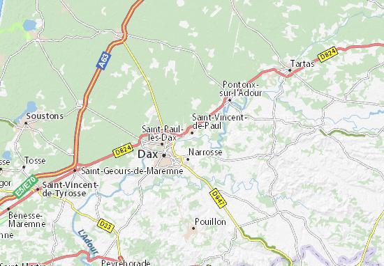 Mappe-Piantine Saint-Vincent-de-Paul