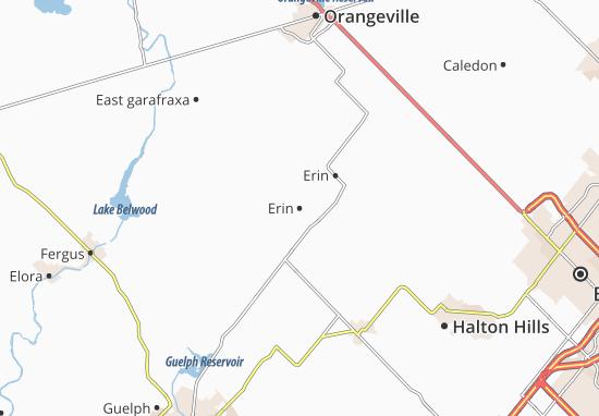 Karte Stadtplan Erin