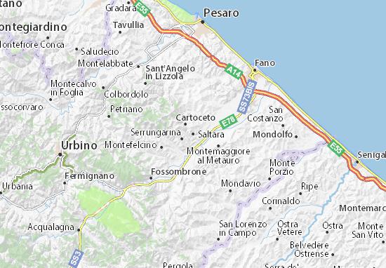 Saltara Map