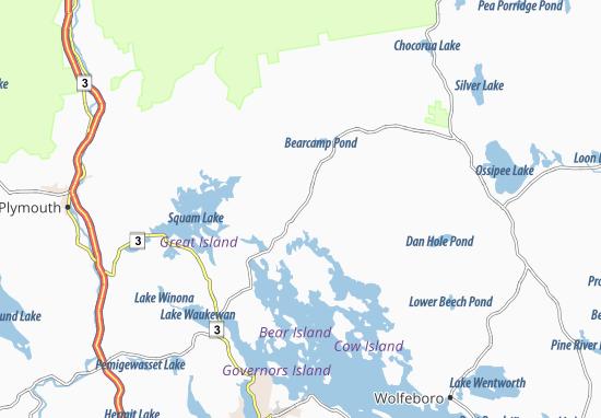 Mapas-Planos Moultonborough